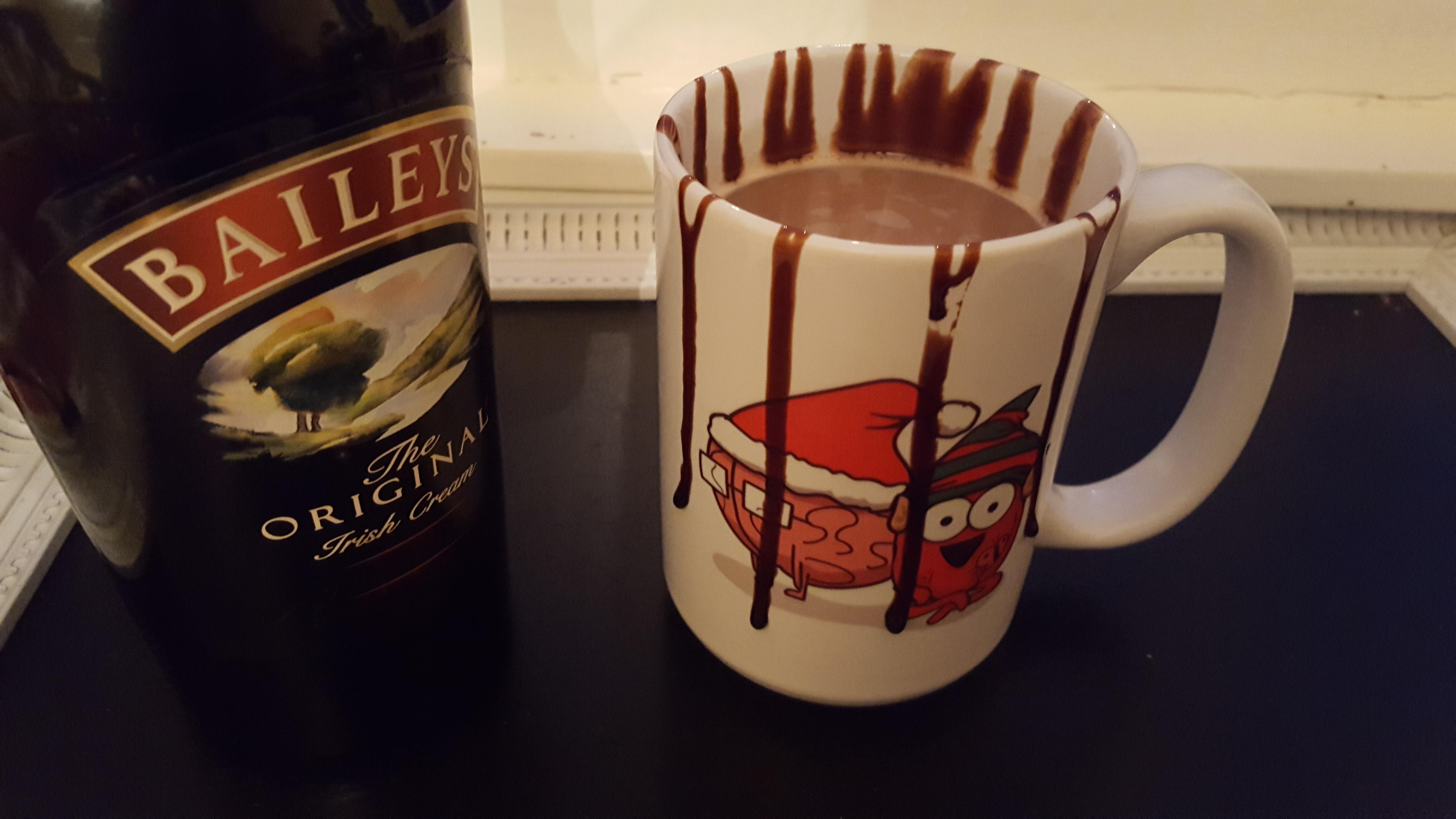 Baileys Hot Chocolate Rebekah Rose Hills