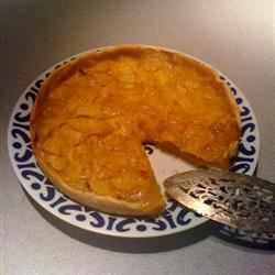 Single Crust Peach Pie