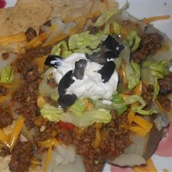 Taco-Topped Potato Marisa R.