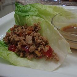 Cherry Chicken Lettuce Wraps Nurtana