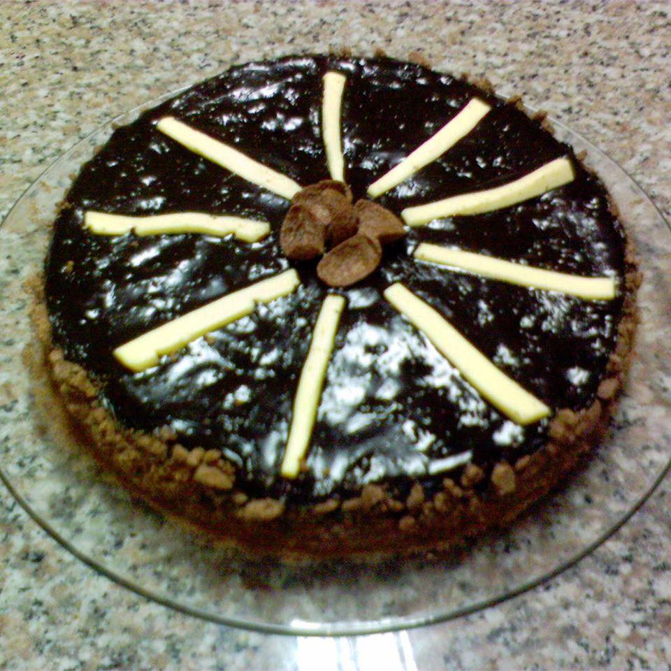 Dark Chocolate Cream Cheese Cake Jeannie O.