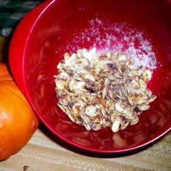 Toasted Pumpkin Seeds with Sugar and Spice Tanaquil