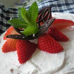 Strawberry Yogurt Pie I TheBritishBaker