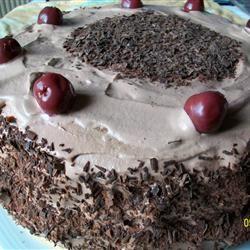 Rich Chocolate Chiffon Cake Montana
