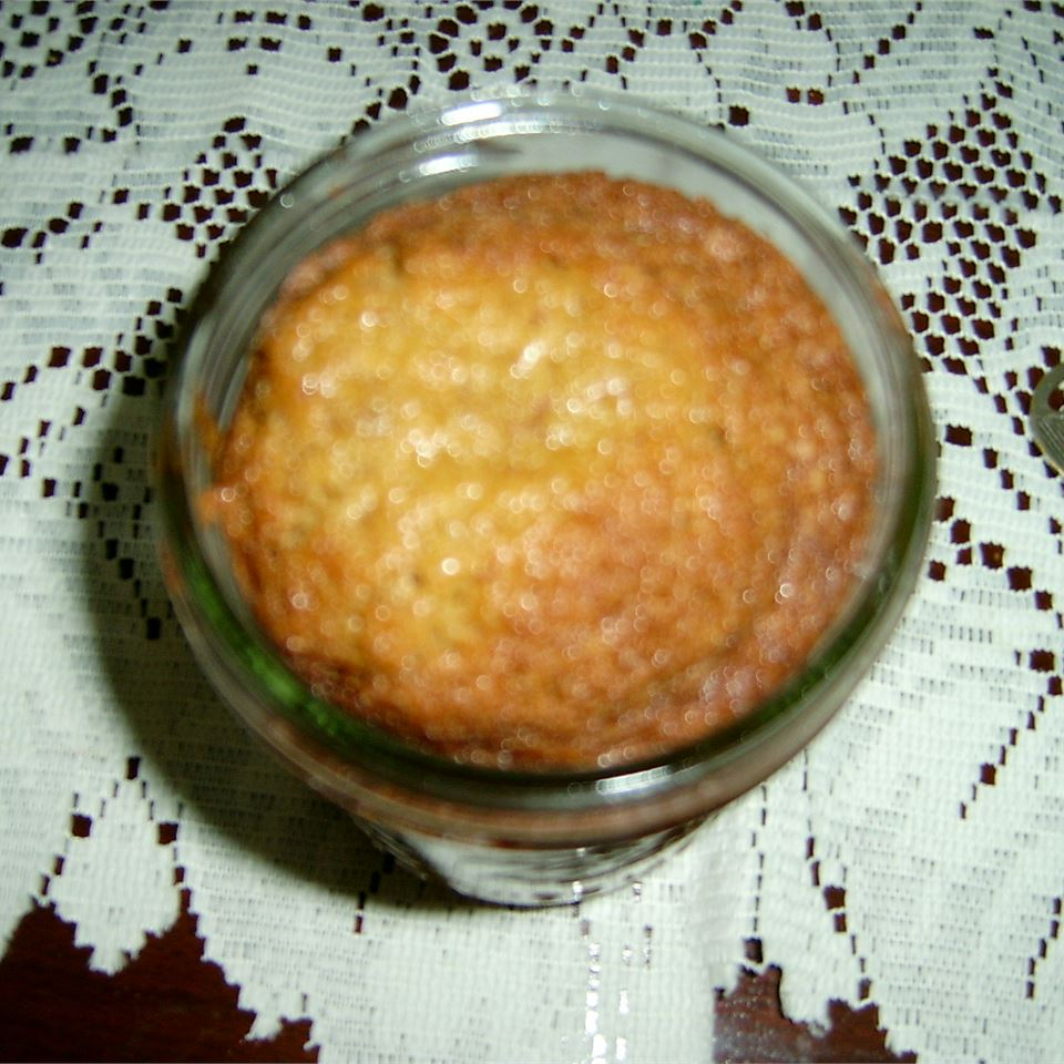 Caramel Nut Cake in a Jar Geri