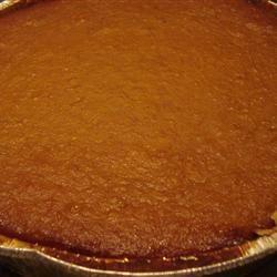 Pilgrim Pumpkin Pie
