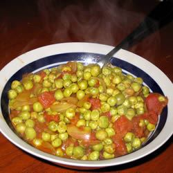 Curried Peas