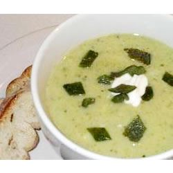 Poblano Chile Pepper Soup MELY C.