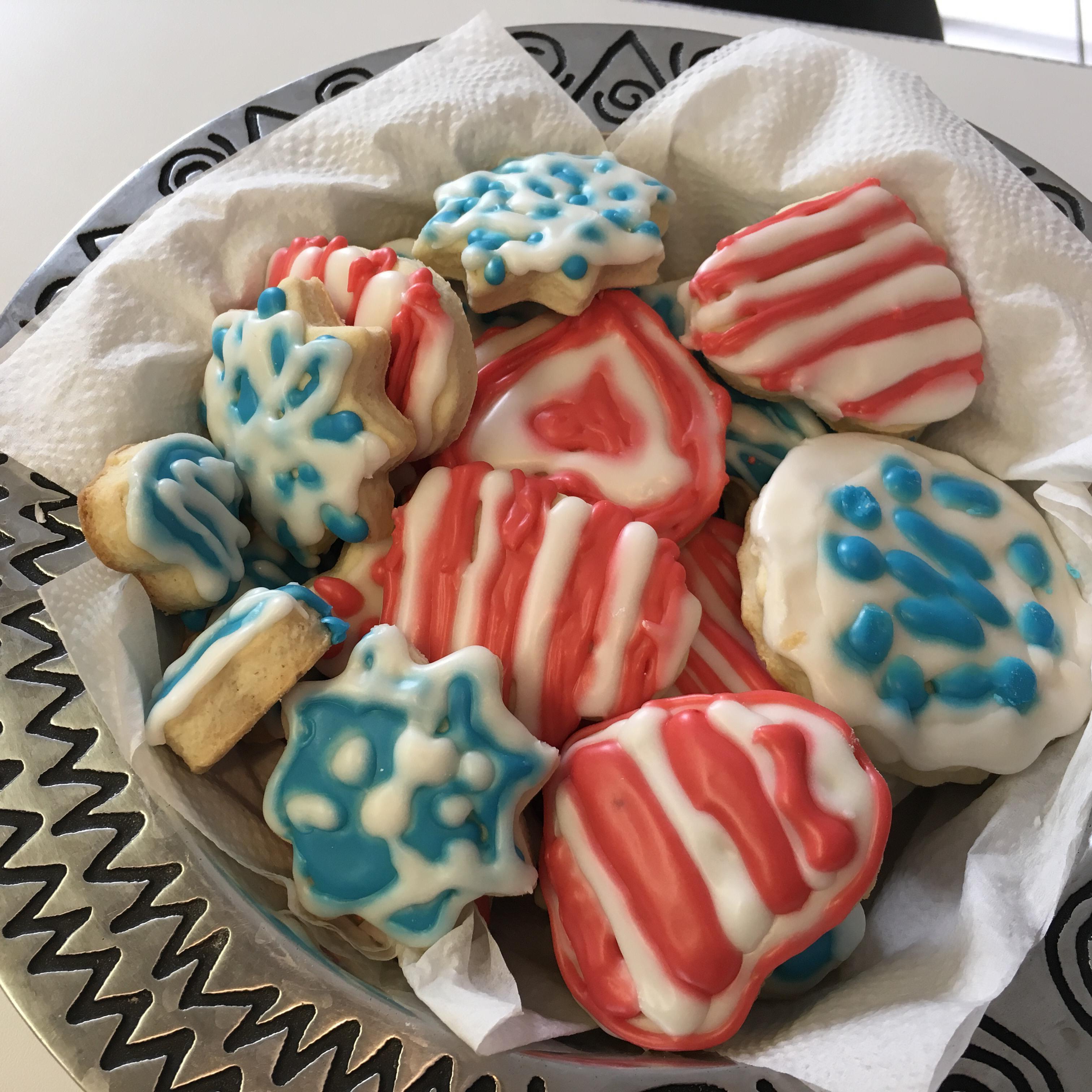 Sour Cream Sugar Cookies IV