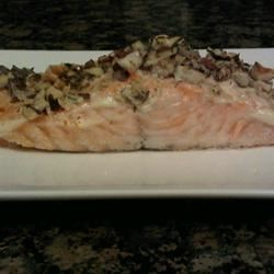 Hazelnut-Crusted Salmon martine