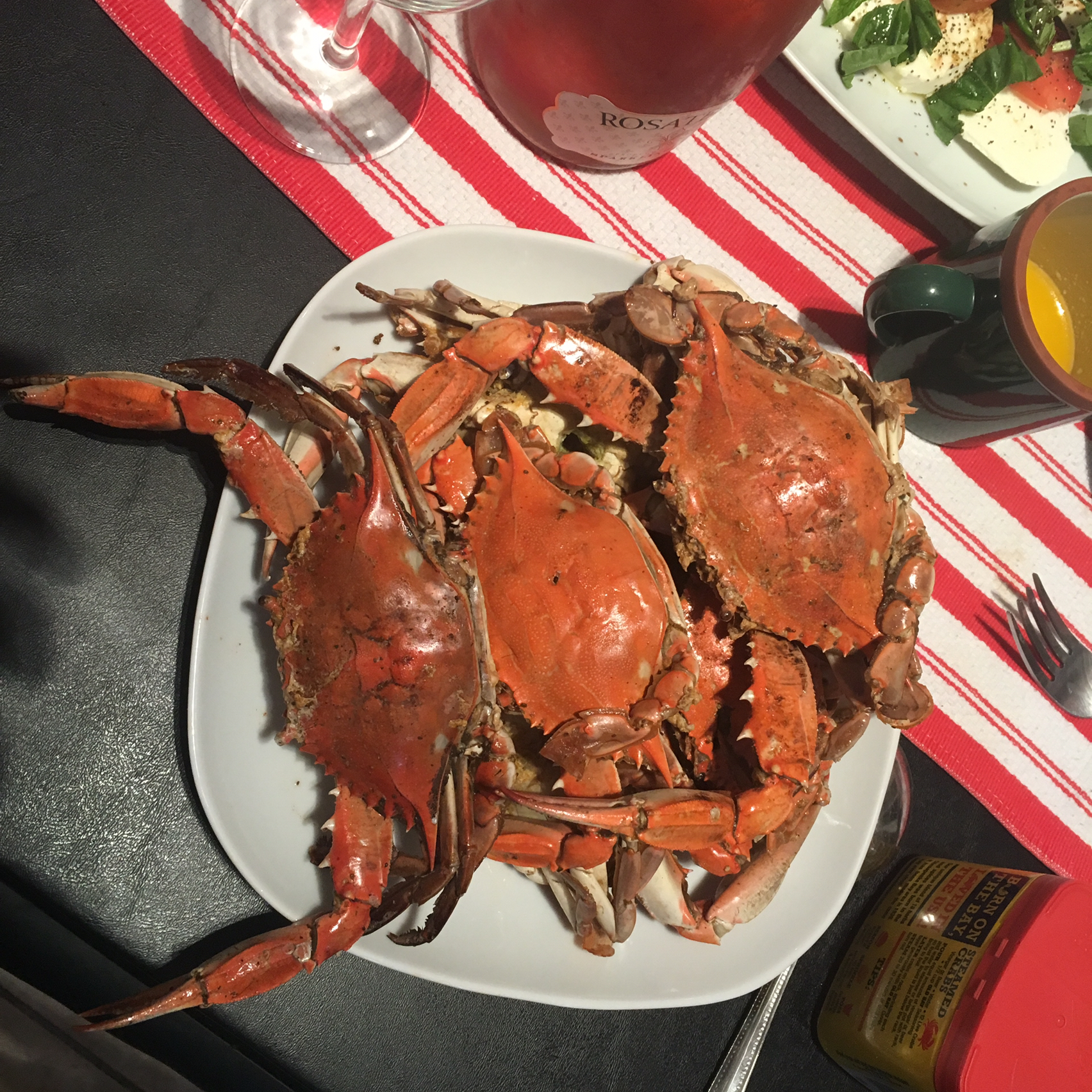Steamed Blue Crabs Katia