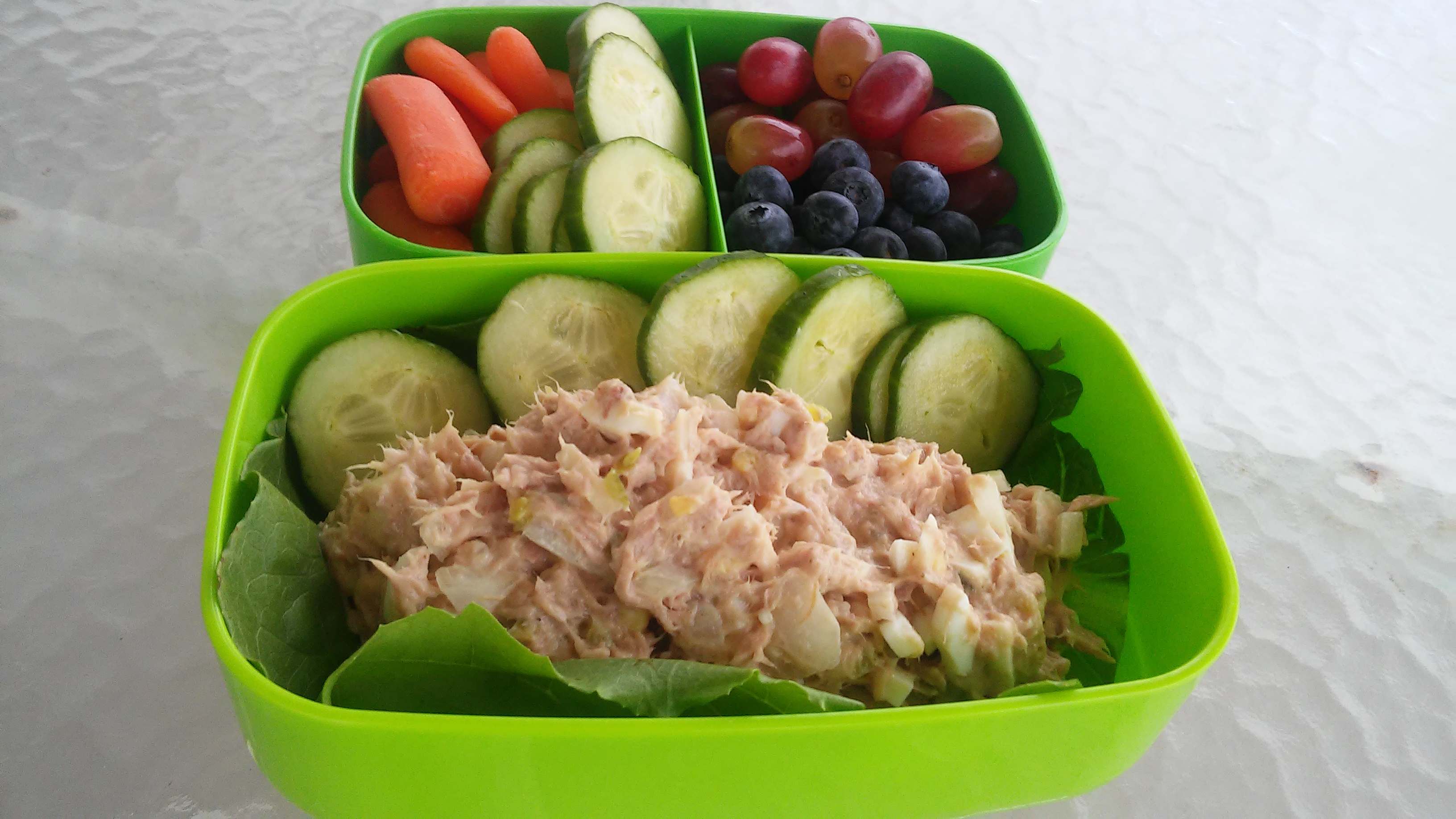 Tuna Egg Salad Bento Box Tammy Lynn