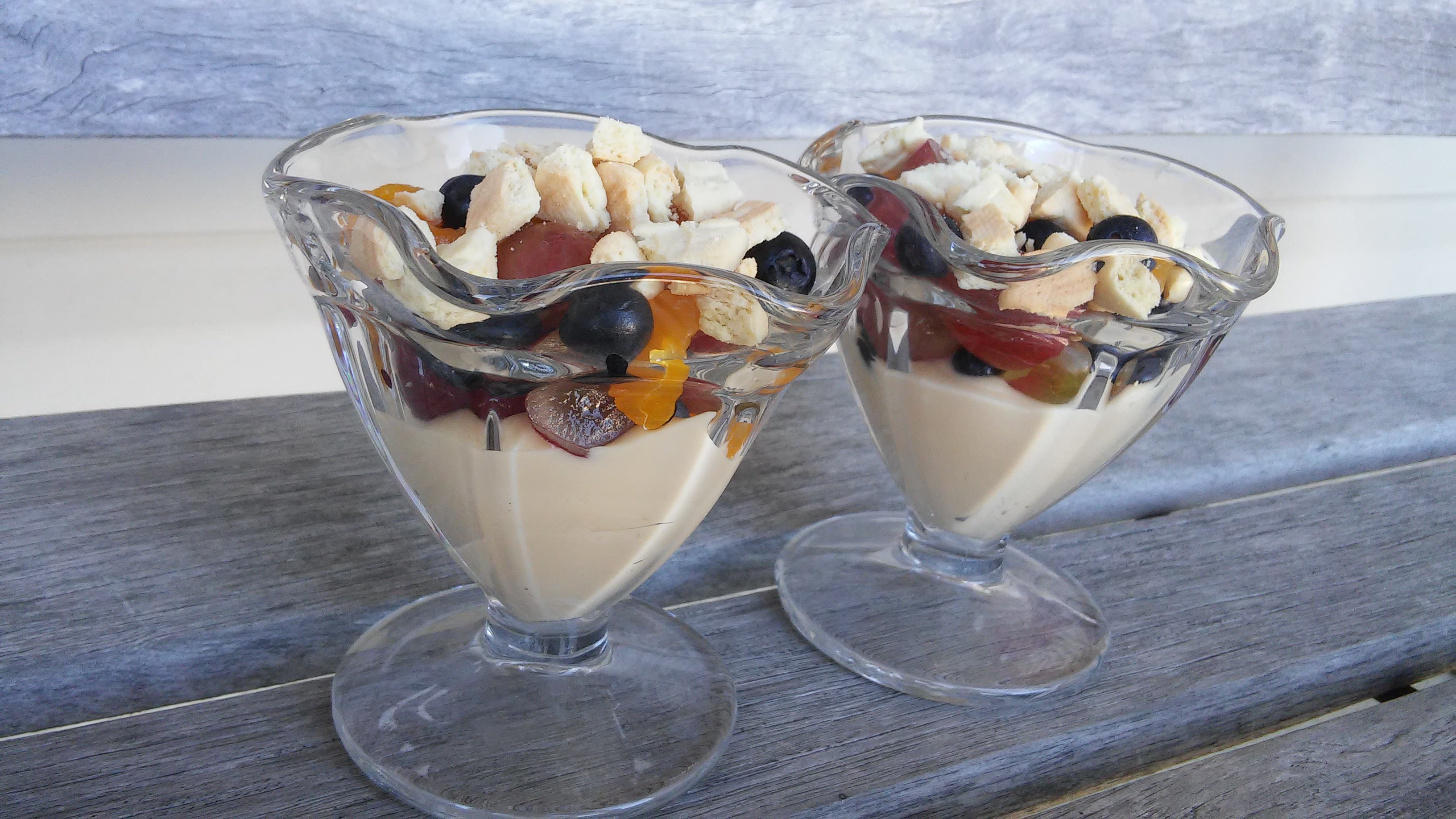 Fruit Pizza Trifles To Go