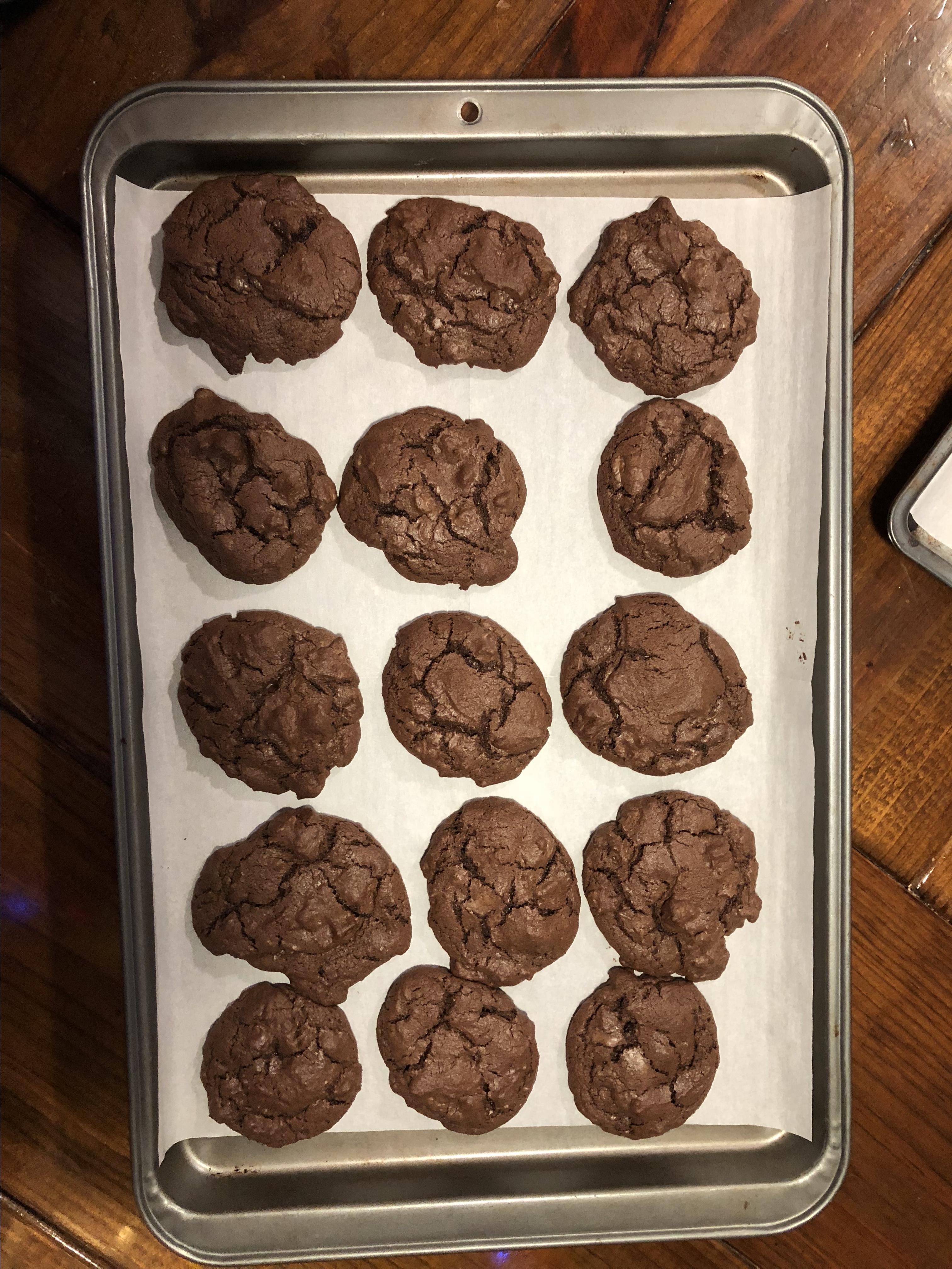 Chewy Chocolate Cookies I rocketdog24