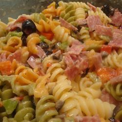Salami Lover's Italian Pasta Salad amandak23k