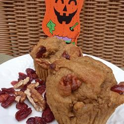 Whole Wheat Pumpkin-Applesauce Muffins Scotdog