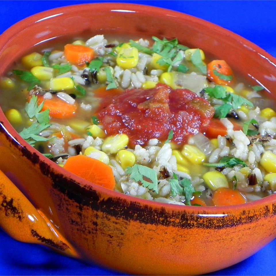 Santa Fe Wild Rice Soup CORWYNN DARKHOLME