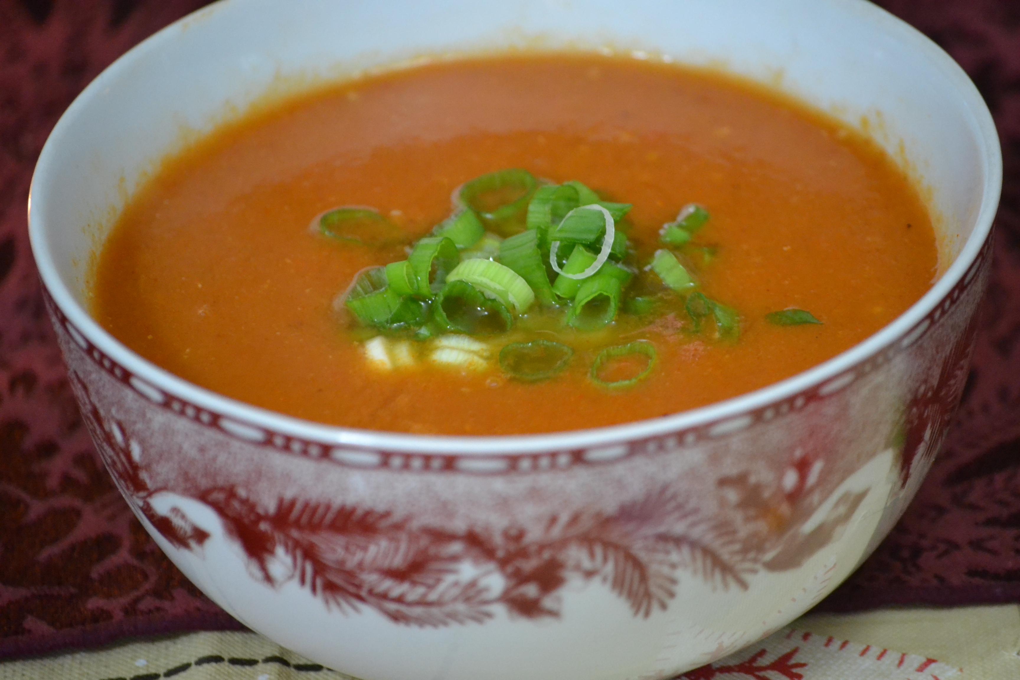 Creamy Chipotle Tomato Bisque