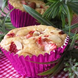Berry Cornmeal Muffins