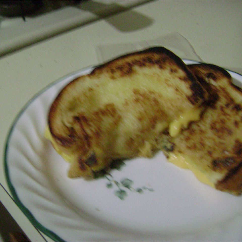 Mike's Favorite Grilled Cheese Mandy L
