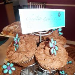 Chocolate-Zucchini Cupcakes FUNLETA