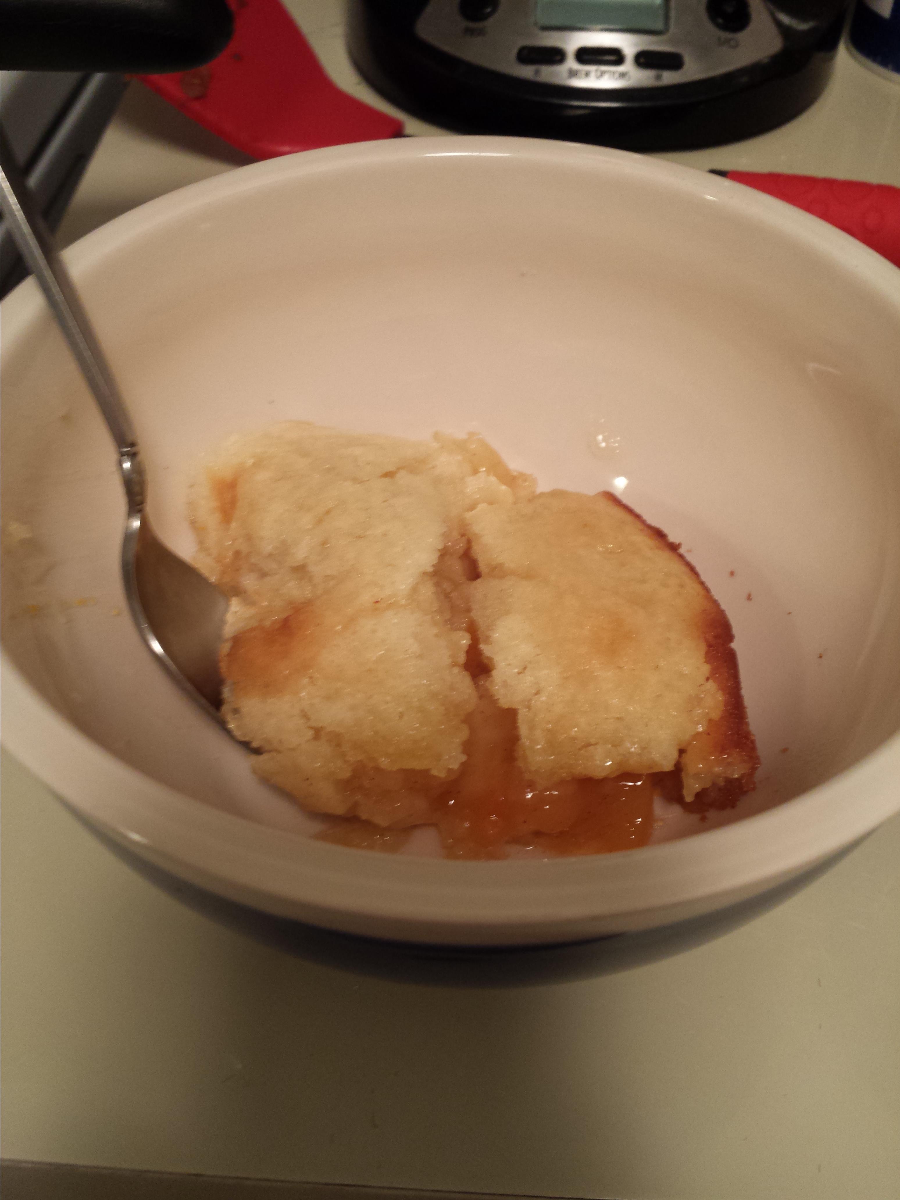 Chef John's Peach Cobbler