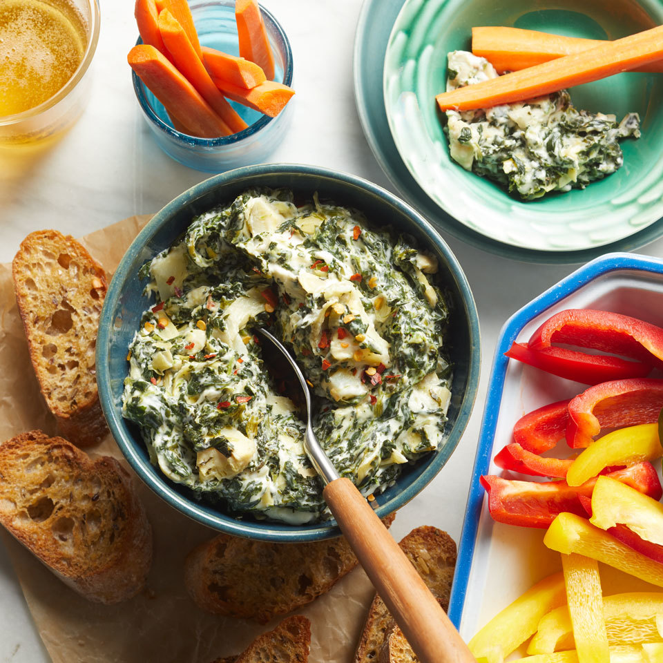 Slow-Cooker Spinach Artichoke Dip Allrecipes Trusted Brands