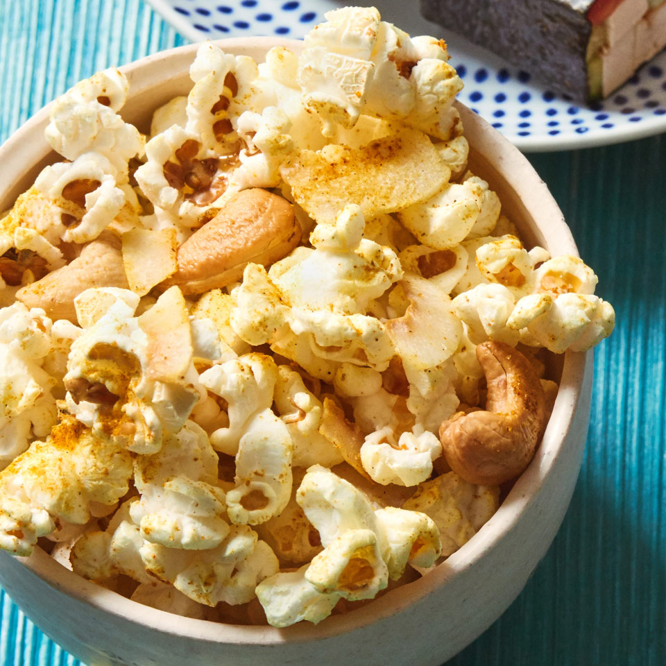 Coconut Curry Cashew Popcorn Allrecipes Trusted Brands