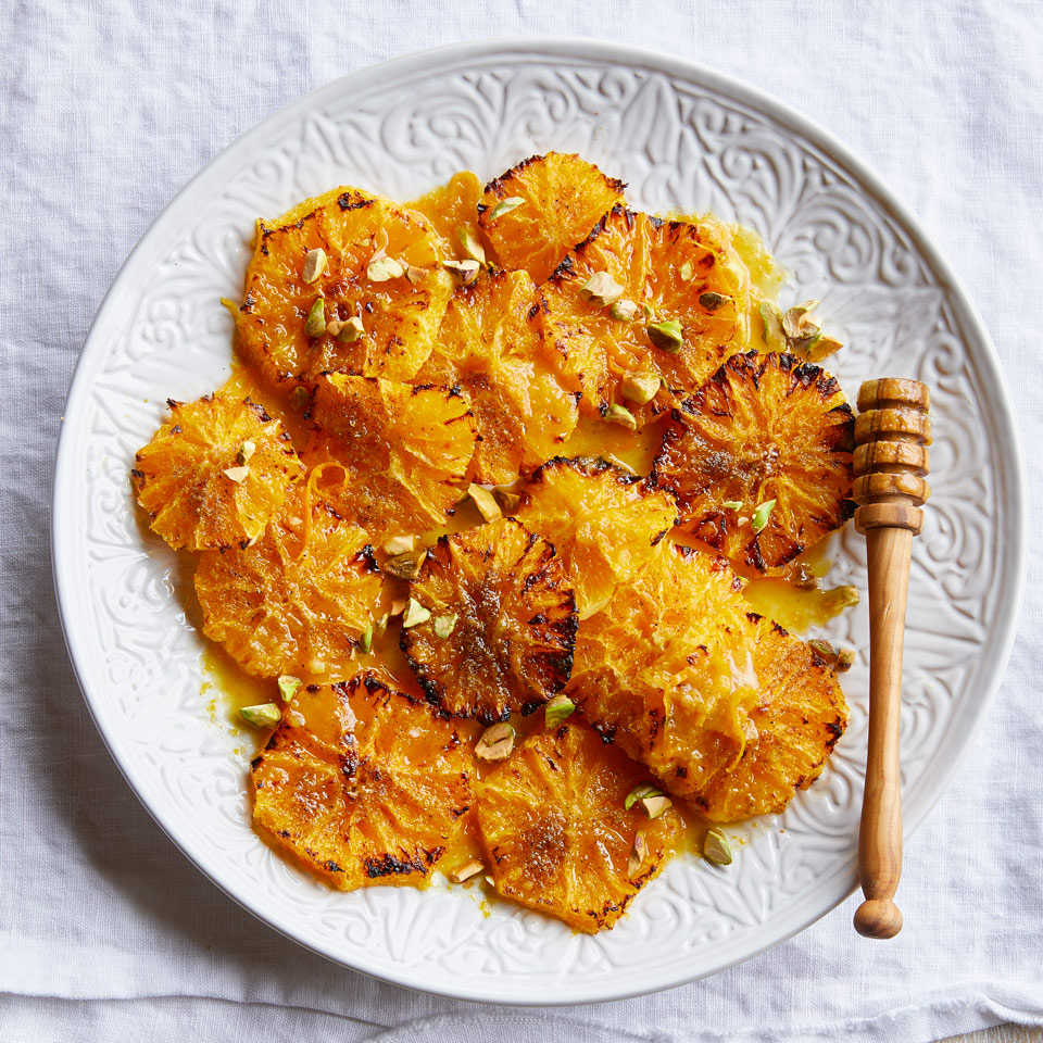 Caramelized Oranges with Cardamom Syrup Trusted Brands