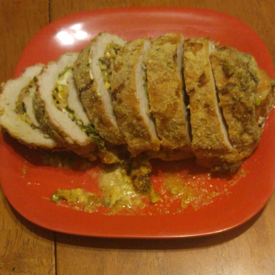 Cheese-Stuffed Pork Tenderloin
