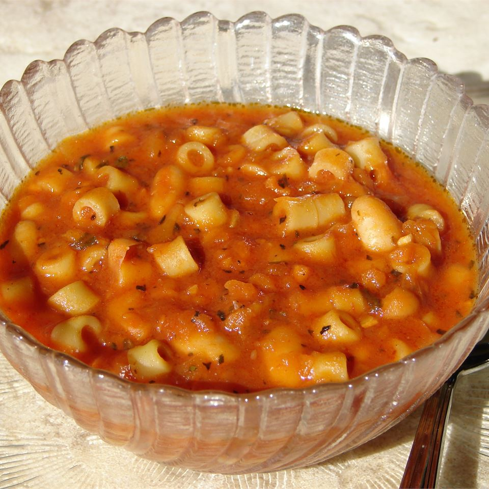 Easy Pasta Fagioli Cindy