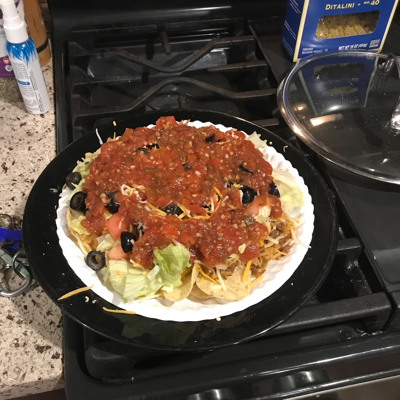 One-Pan Taco Dinner Scott Volkland