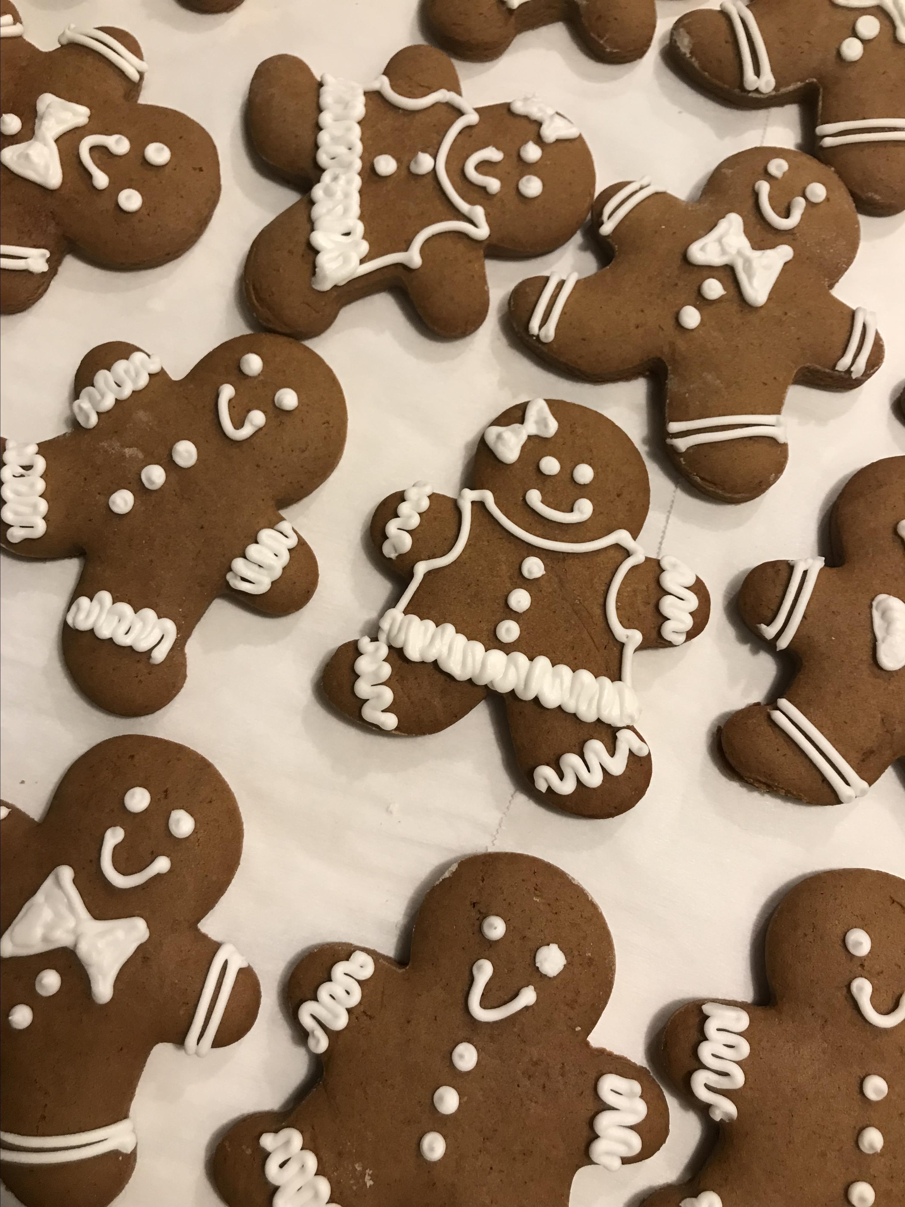 Classic Gingerbread Cutouts Maria Elena