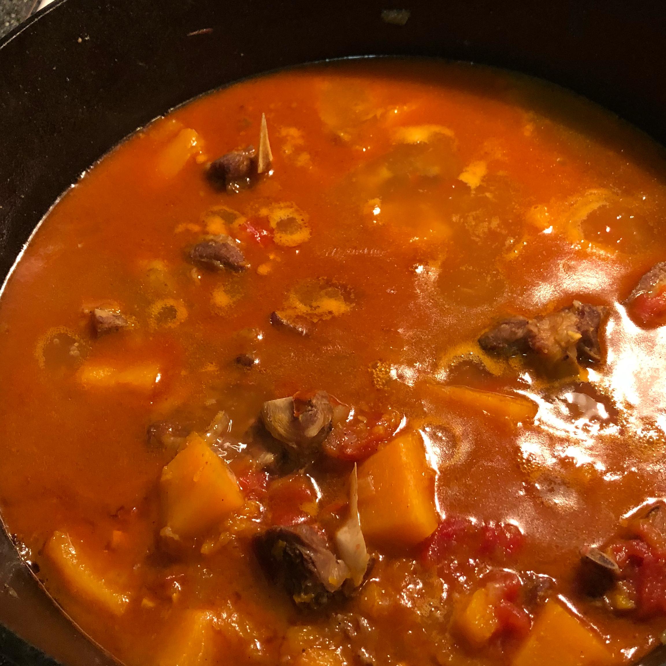 Goat and Butternut Squash Stew Troy Riha