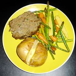 Simply Divine Meat Loaf with Spinach Nicky