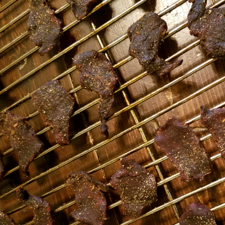 Sweet and Spicy Venison Jerky
