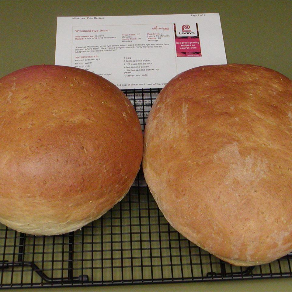 Winnipeg Rye Bread clemep