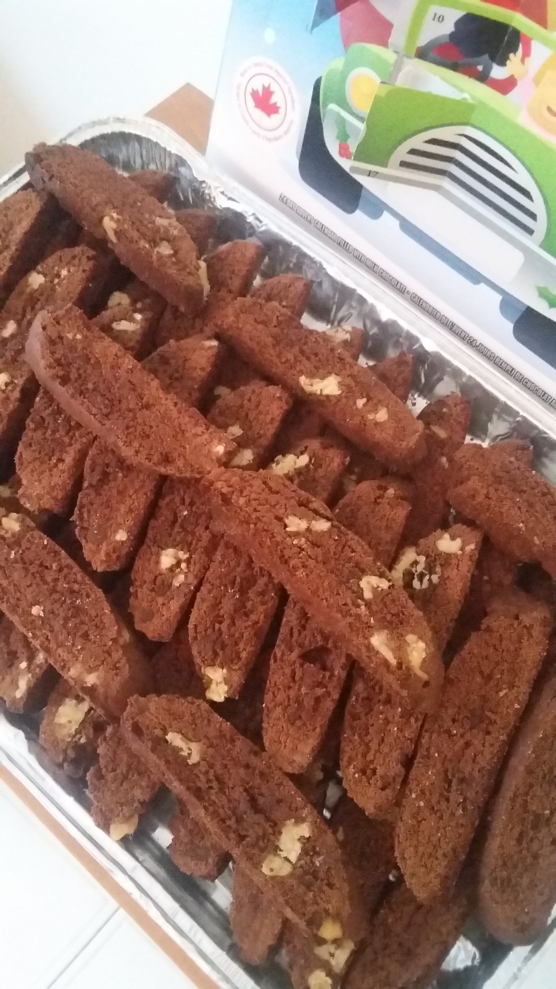 Simple Double Chocolate Biscotti