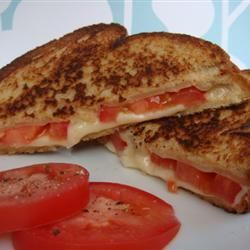 Grilled Cheese with Tomato House of Aqua