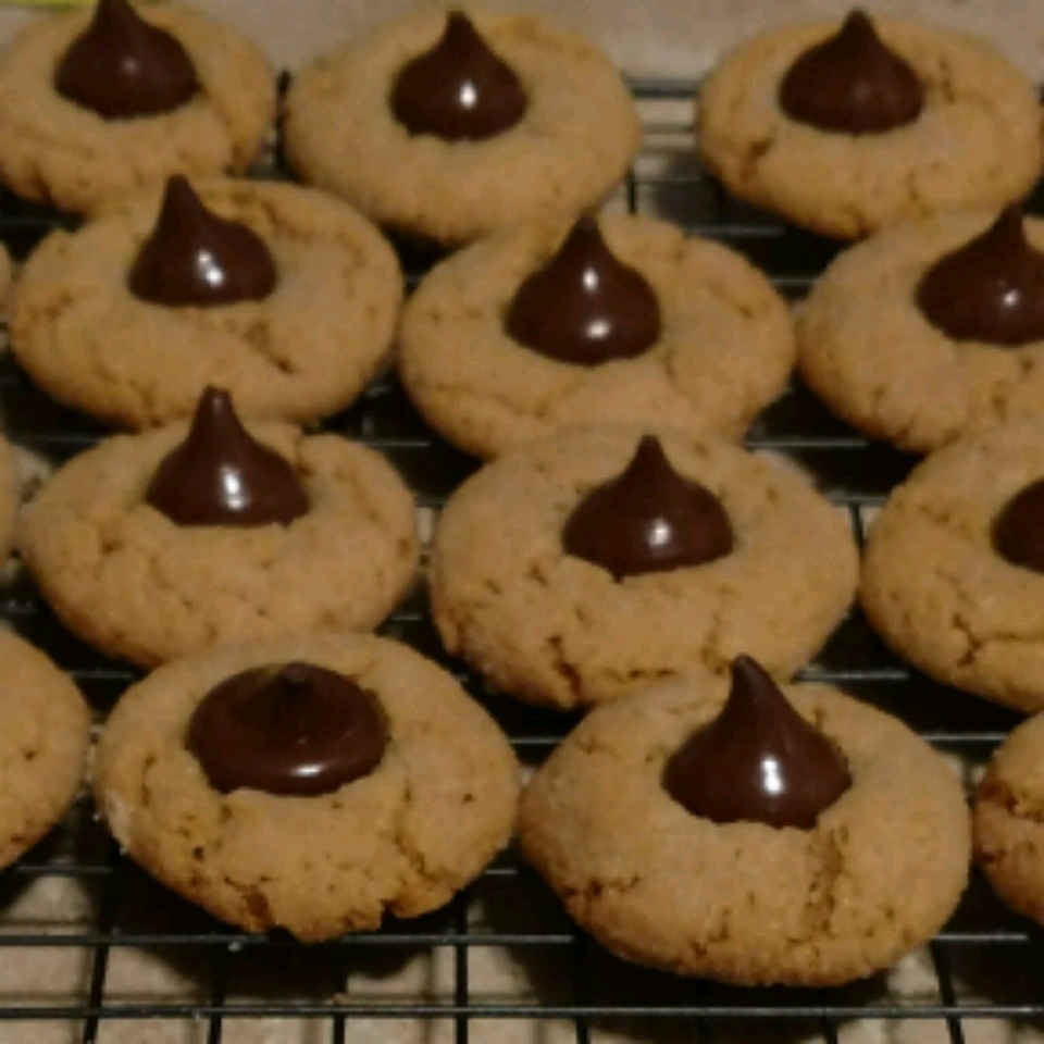 World's Easiest Peanut Butter Blossoms