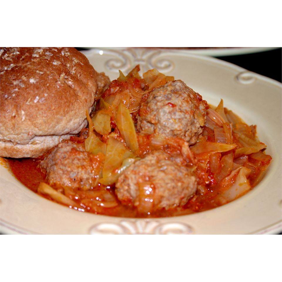 Grandma Elaine's Unstuffed Sweet and Sour Cabbage jalexandropoulos