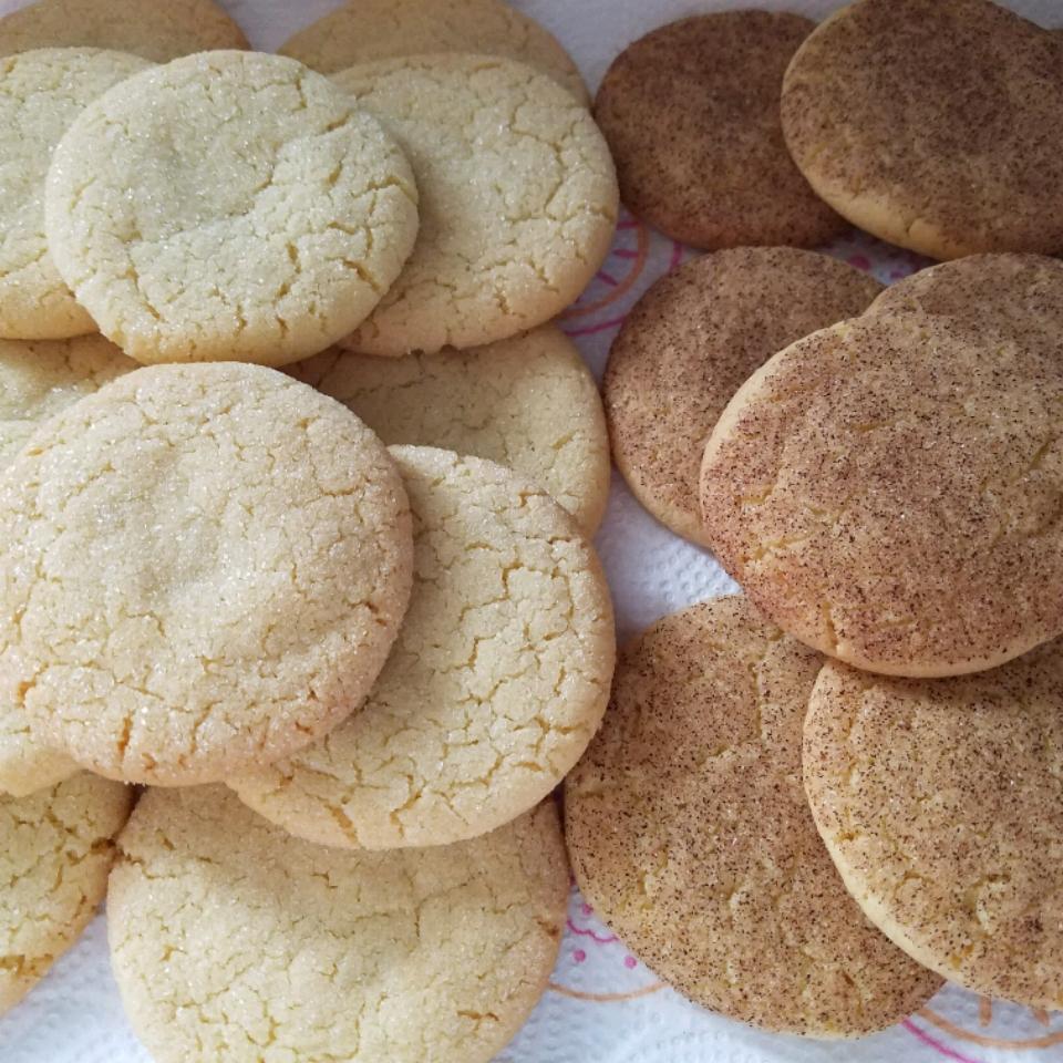 Cracked Sugar Cookies I Jamie