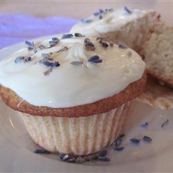 Lemon-Lavender Cupcakes Candice