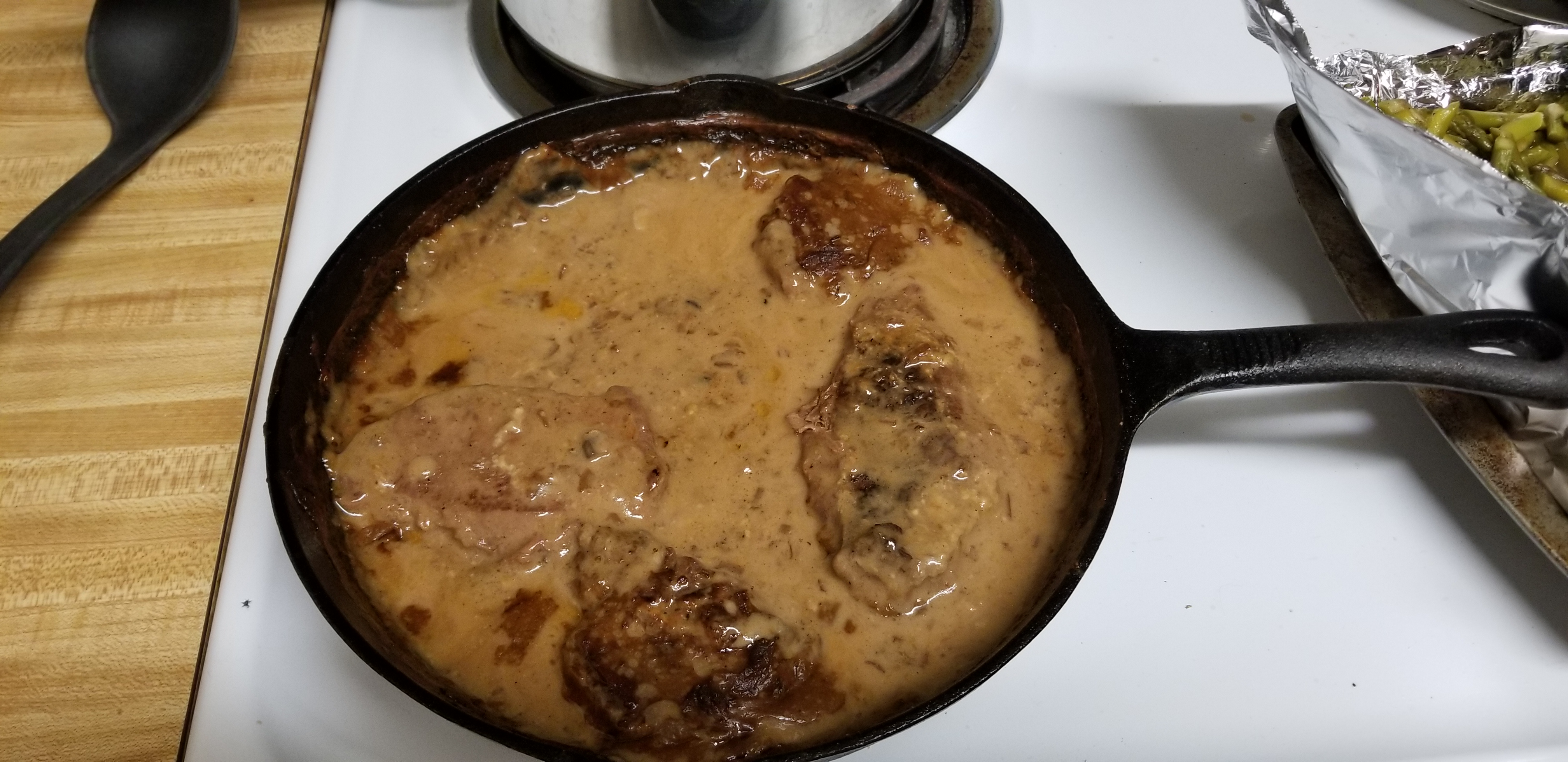 Round Steak and Gravy II R. J.