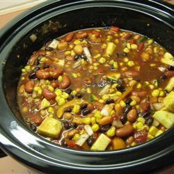 Veggie Vegetarian Chili gmcknight