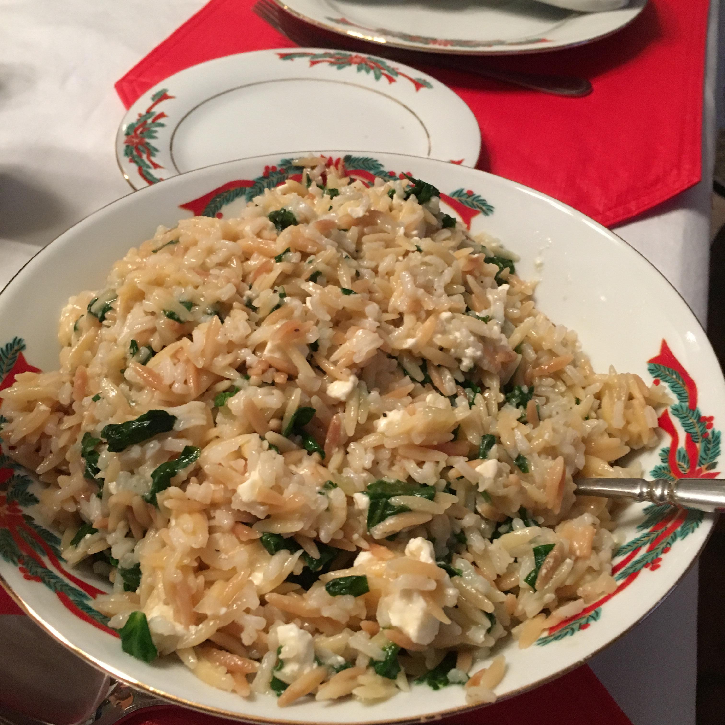 Sarah's Feta Rice Pilaf Mjcurrent