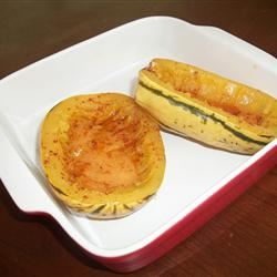 Baked Delicata Squash with Lime Butter ritajennings