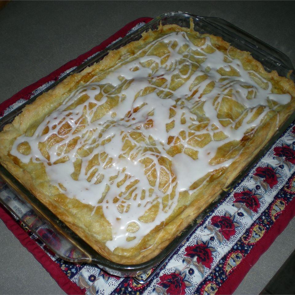 Danish Pastry Apple Bars II