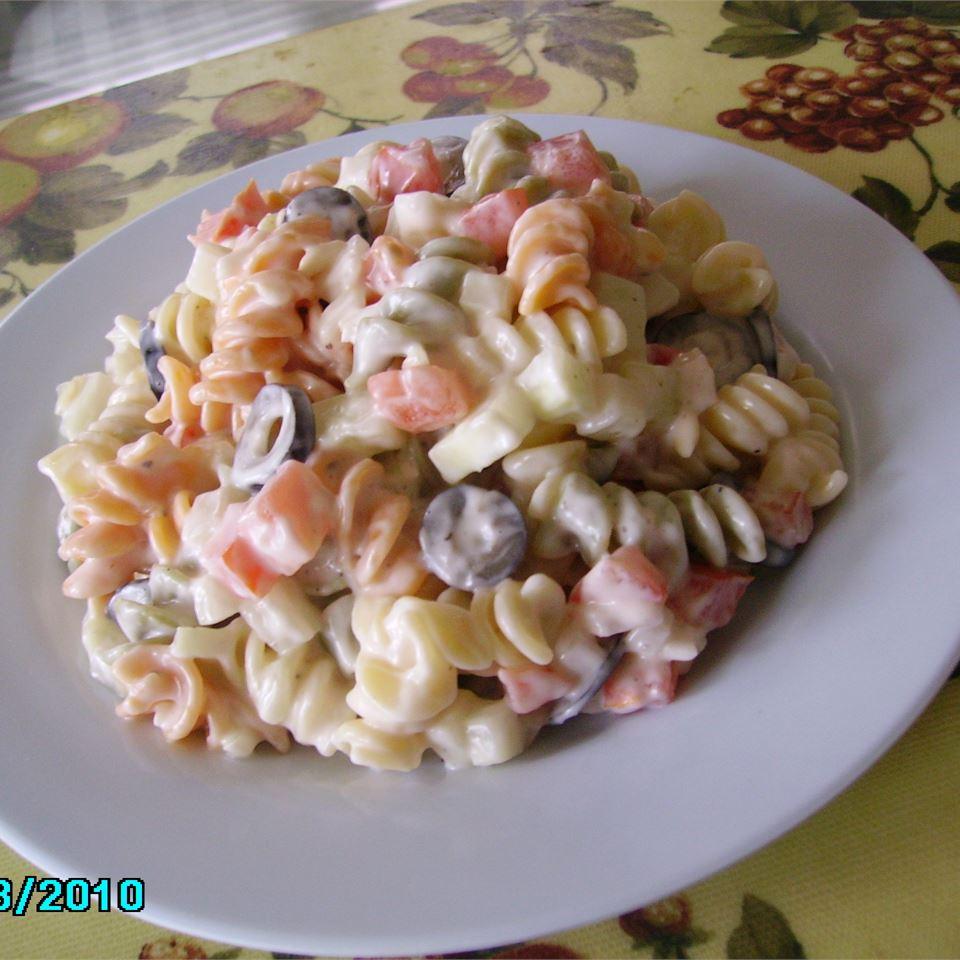 Italian Confetti Pasta Salad Christina