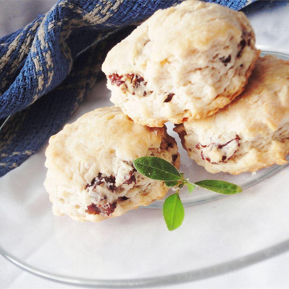 Cinnamon Sour Cream Biscuits larkspur